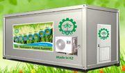 Гидропонное оборудование для выращивания готового корма. Талдыкорган