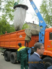 Заглубленные мешки (биг-беги) под мусор в Талдыкоргане
