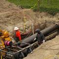 Бестраншейная прокладка трубопроводов без вскрытия грунта